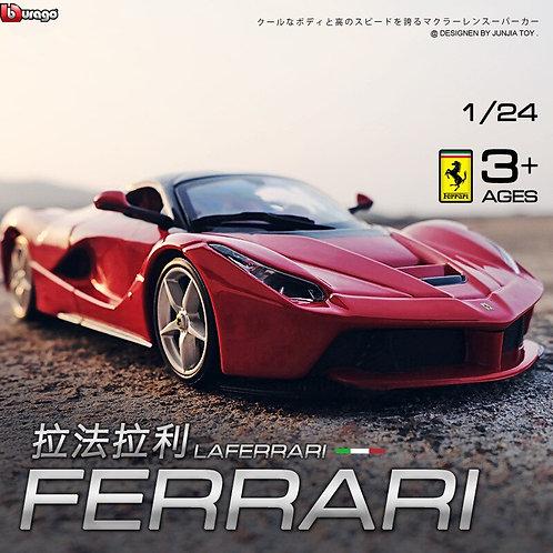 Bburago 1:24 FERRARI Laferrari Simulation Alloy Car Model Collect Gifts Toy