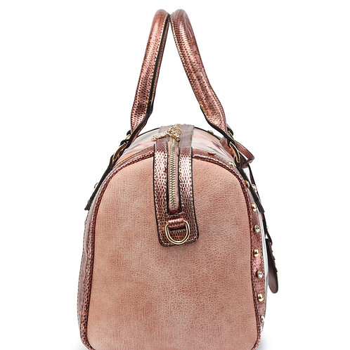 Vintage Soul Travel Shoulder Bag With Removable Shoulder Strap