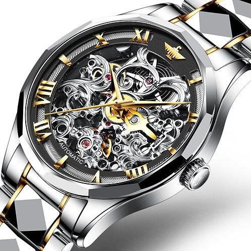 Men Mechanical Wristwatch  Automatic Watch 50ATM