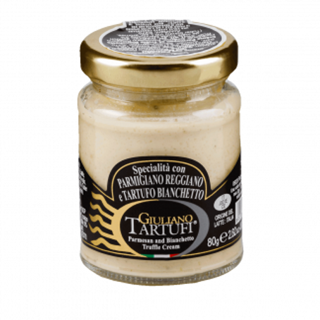 """""""Parmigiano Reggiano"""" Cream with Bianchetto Truffle (pack of 2) 160gr/5.6oz"""