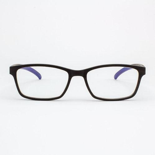 Lee - Adjustable Wood Eyeglasses
