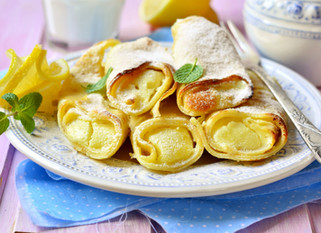 Chef Gianluca Deiana Abis: Crepes with Ricotta and Lemon Jam