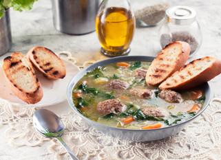 Chef Gianluca Deiana Abis: Minestra Tradizionale Napoletana Maritata*/Italian Wedding Soup