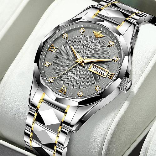 Men Mechanical Wristwatch Luxury Classic Automatic Sapphire Diamond Luminous