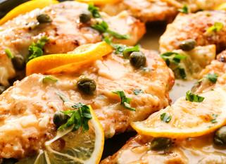 Chef Gianluca Deiana Abis: Chicken Piccata
