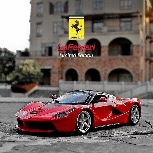 Bburago 1:24 Ferrari La Ferrari Car Model Die-Casting Metal Model Children Toy