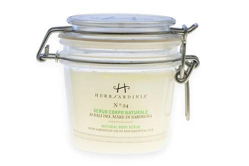 Natural Body Scrub with Sardinian Salts & Essentials Oils