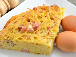 Chef Gianluca Deiana Abis: Pasta Frittata/Frittata di Pasta
