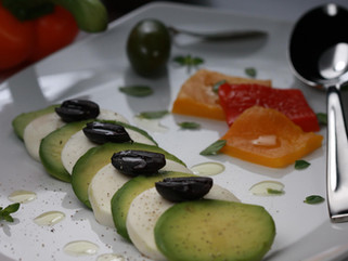 Chef Marco Porceddu: Mozzarella and Avocado