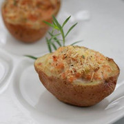 Chef Marco Porceddu: Patate ripiene al Salmone - Stuffed Potatoes