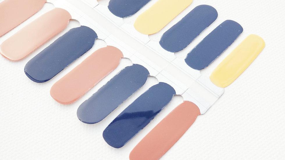 Nail Polish Strips-Nail Sticker Decals-Desert Sunrise