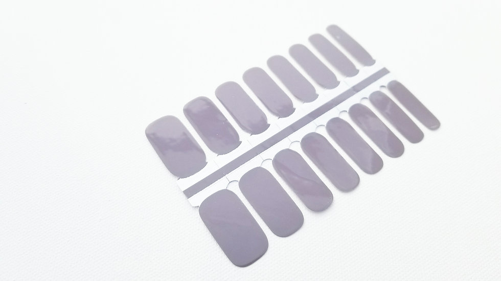 Nail Polish Strips-Nail Sticker Decals-Taupe Shadow