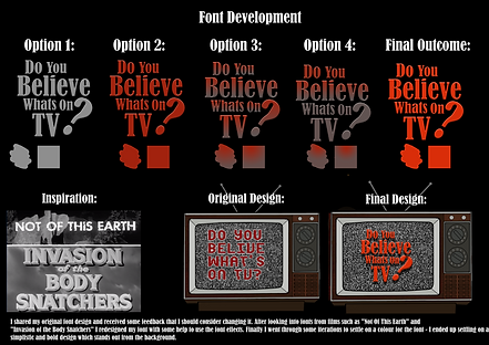 Sam Gibbs Font Design (Games Design Year
