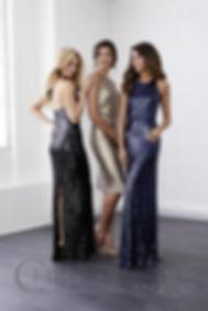Sequins bridemaid dresses