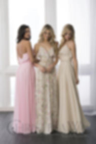 Solid colors or prints bridesmaid dresses