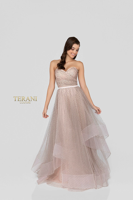 SWEETHEART NECKLINE WITH LAYERED SKIRT