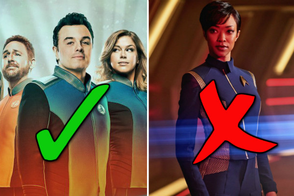 Give Us More Shows Like The Orville and Kill Star Trek Discovery While You're at it.