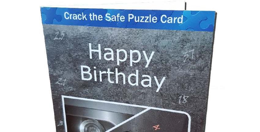 Crack the Safe Card