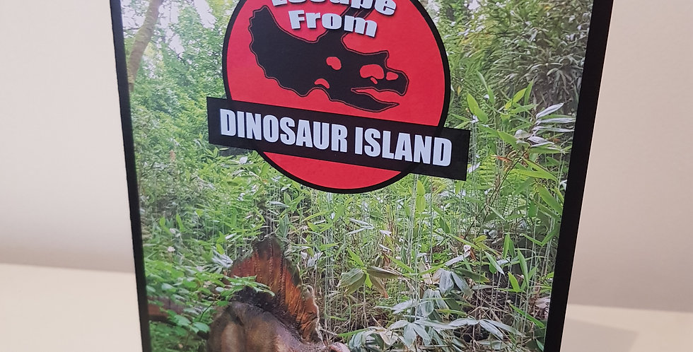 Escape from Dinosaur Island Puzzle Card