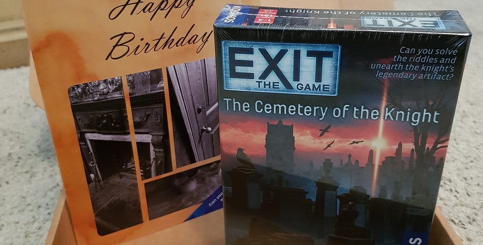 Exit Game gift package - A Puzzle Card and an Exit Game!