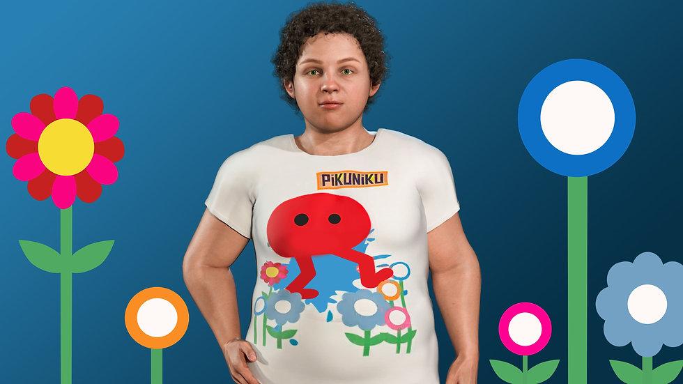 """Живая футболка """"Пикунику"""""""