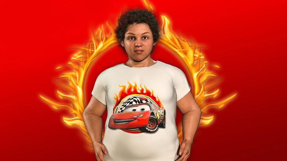 """Живая футболка """"Молния МакКвин"""""""