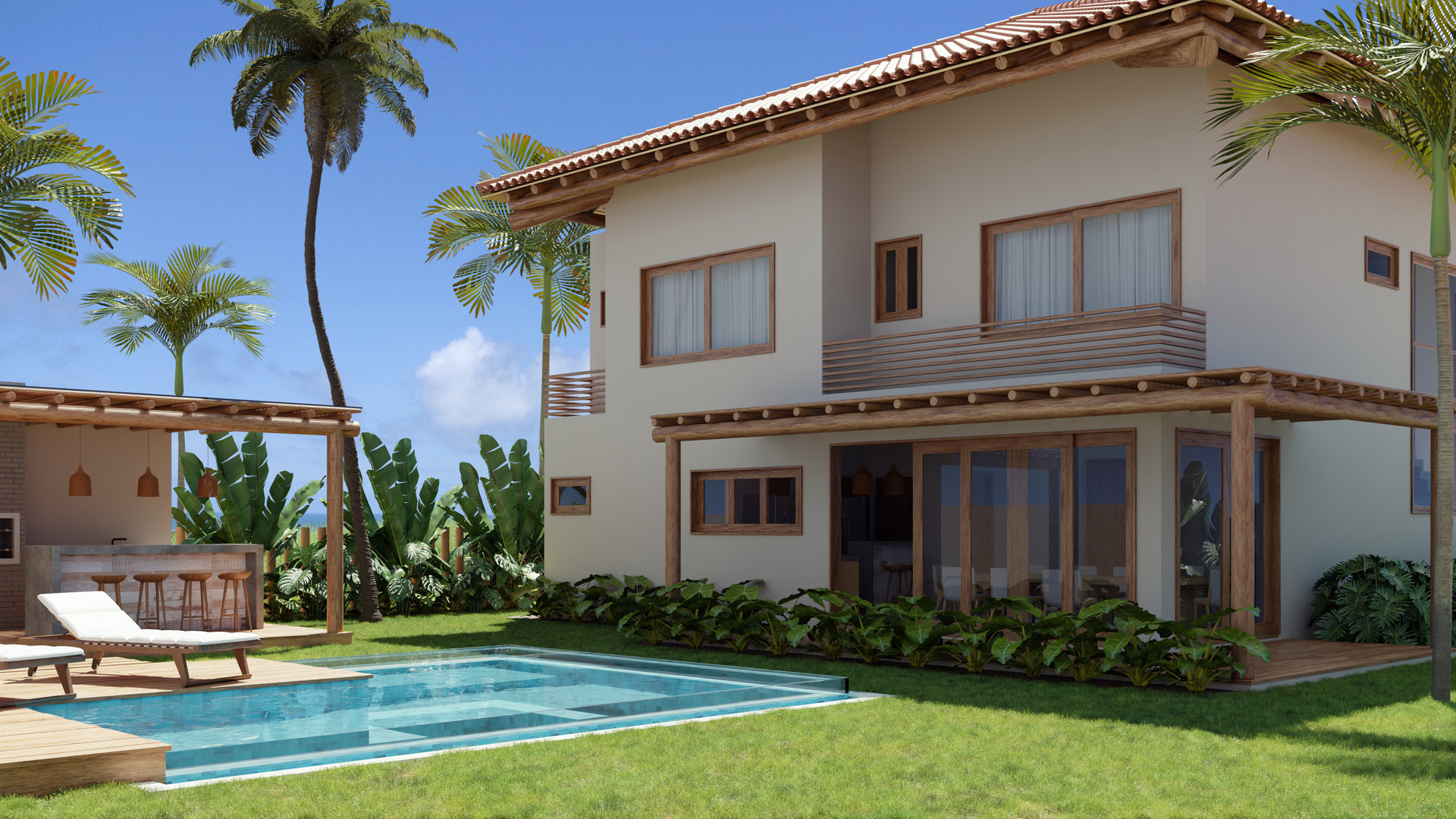 Quintal - Casa P
