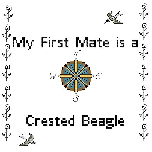 Crested Beagle, My First Mate is a