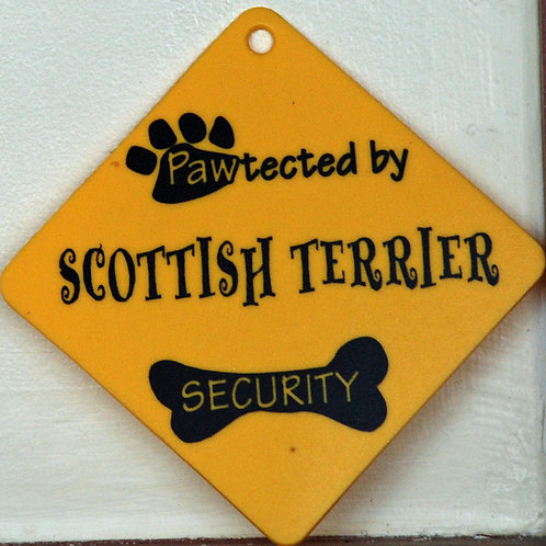 Scottish Terrier, Pawtected by