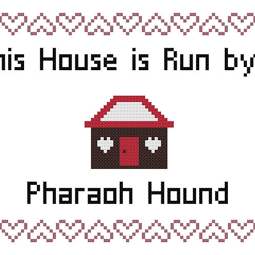 Pharaoh Hound, This house is run by