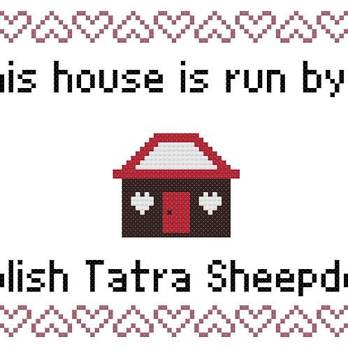Polish Tatra Sheepdog, This house is run by