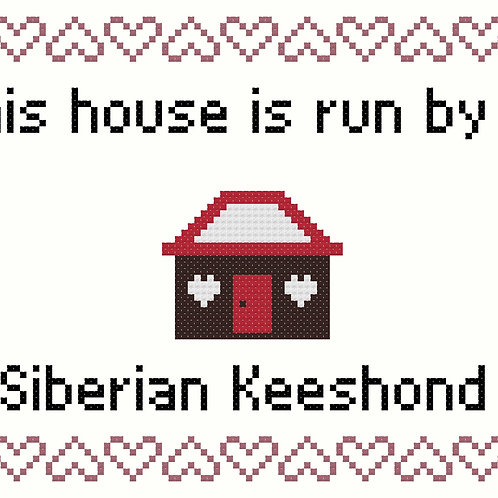 Siberian Keeshond, This house is run by