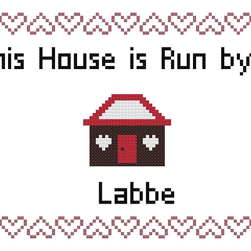 Labbe, This house is run by