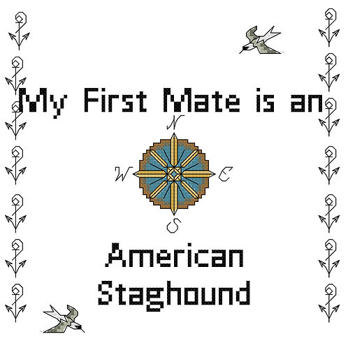 American Staghound, My First Mate is a