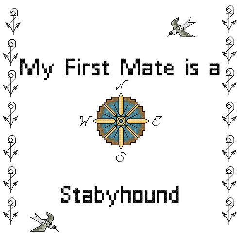 Stabyhound , My First Mate is a