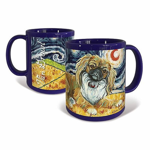 Pekingese, Starry Night Mug