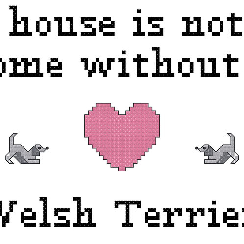Welsh Terrier, A House is Not a Home Without