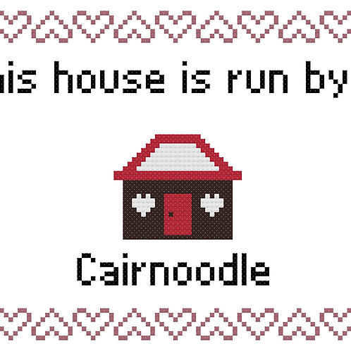 Cairnoodle, This house is run by