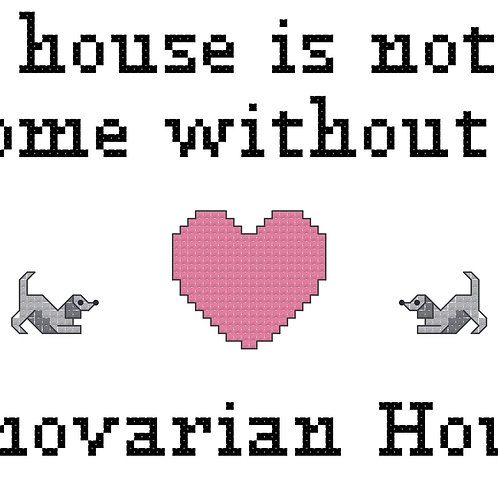Hanovarian Hound, A House is Not a Home Without