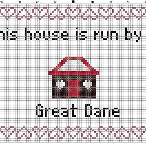 Great Dane, This house is run by