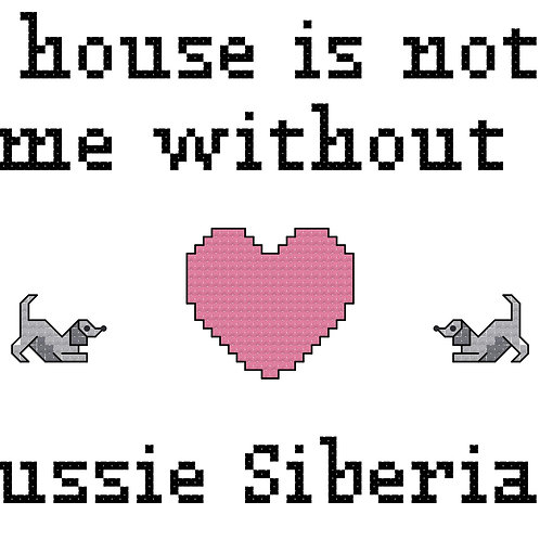 Aussie Siberian, A House is Not a Home Without