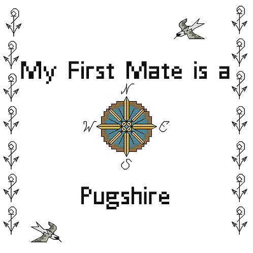 Pugshire, My First Mate is a