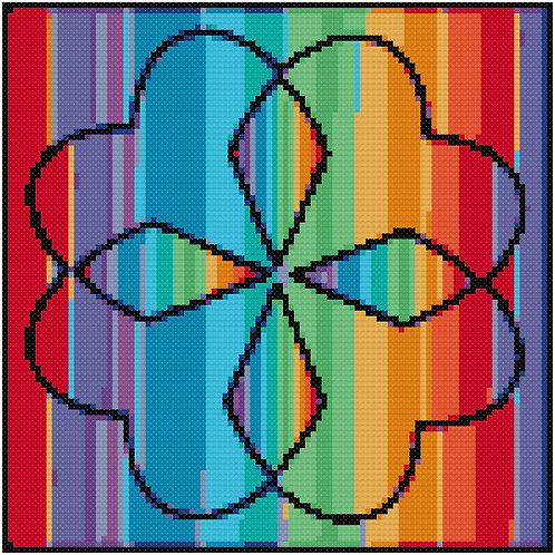 Brilliant Floral cross stitch