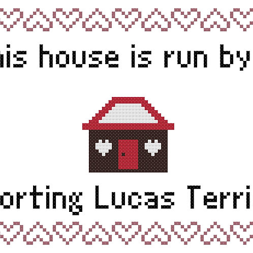 Sporting Lucas Terrier, This house is run by