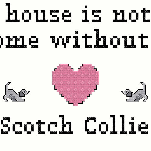Scotch Collie, A House is Not a Home Without