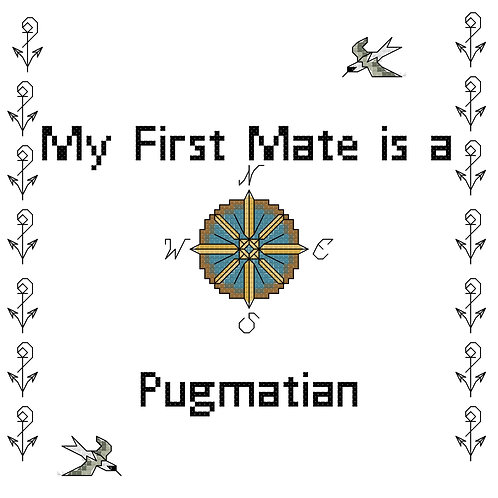 Pugmatian, My First Mate is a