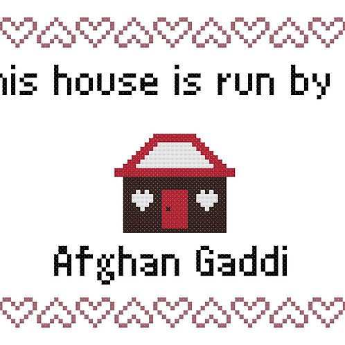Afghan Gaddi, This house is run by