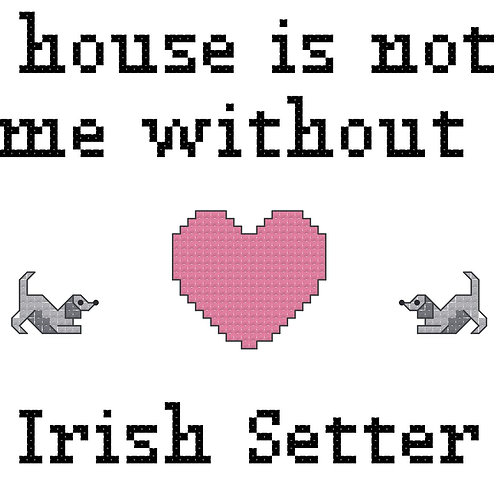 Irish Setter, A House is Not a Home Without