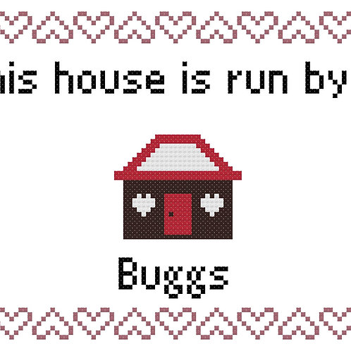 Buggs, This house is run by