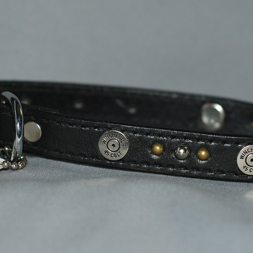 Ruff Puppies Leather Dog Collar for Medium to Large Dog